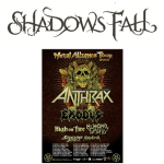 Shadows Fall Joins Anthrax On 2013 Metal Alliance Tour On Select Dates