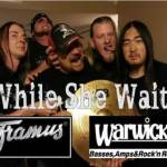 Phoenix, AZ's WHILE SHE WAITS Announces New Endorsement Deal with Warwick Basses & Framus Guitars