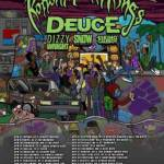 Second Annual THE FIGHT TO UNITE TOUR, Presented by Swisher Xtreme, Returns for 2013; Trek Headlined by KOTTONMOUTH KINGS and Featuring DEUCE as Main Support w/ Additional Support From DIZZY WRIGHT, SNOW THA PRODUCT and ESKIMO CALLBOY; Kicks Off April