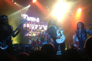 Thin Lizzy with Diva Demolition, Live, Melbourne – 4 March 2013