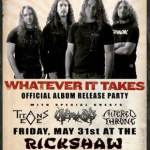 Canada's Own MAGNUS RISING to Release 'Whatever It Takes' on May 31, 2013 via L8R Records Inc