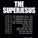 The Superjesus – Live in Perth, 23 June 2013