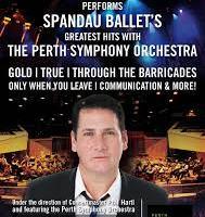 Live – Tony Hadley, Perth, 30 October 2013