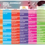 Perth Big Day Out new map & timetables released