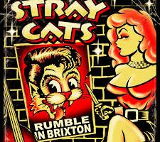 Shane's Rock Challenge: THE STRAY CATS – Rumble In Brixton