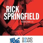 LIVE: RICK SPRINGFIELD – February 15, 2015 (Detroit, MI)