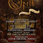 OPETH 'PALE COMMUNION' AUSTRALIAN TOUR 2015