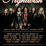 NIGHTWISH ANNOUNCES ENDLESS FORMS MOST BEAUTIFUL AUSTRALIAN TOUR 2016