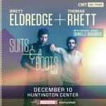 LIVE: BRETT ELDREDGE / THOMAS RHETT wsg Danielle Bradbery – December 10, 2015 (Toledo, OH)