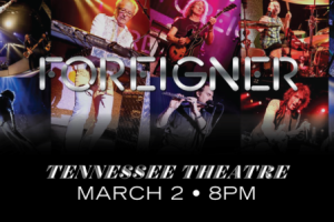 LIVE: FOREIGNER – March 2, 2016 (Knoxville, TN)