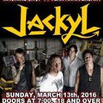 LIVE: JACKYL – March 13, 2016 (Flint, MI)