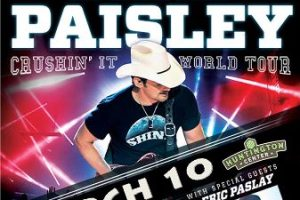 LIVE: BRAD PAISLEY wsg Eric Paslay – March 10, 2016 (Toledo, OH)