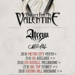 BULLET FOR MY VALENTINE + ATREYU + CANE HILL ANNOUNCE AUSTRALIAN TOUR