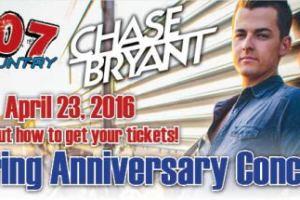 LIVE: CHASE BRYANT – April 23, 2016 (Port Huron, MI)