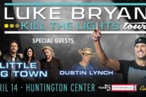 LIVE: LUKE BRYAN wsgs Little Big Town & Dustin Lynch – April 14, 2016 (Toledo, OH)
