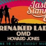 LIVE: BARENAKED LADIES wsgs OMD & Howard Jones – June 10, 2016 (Clarkston, MI)