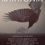 Katatonia Announce Australian 2016 Tour