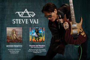 GIVEAWAY – STEVE VAI's 25th ANNIVERSARY RELEASE OF PASSION & WARFARE