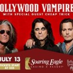 LIVE: HOLLYWOOD VAMPIRES wsg Cheap Trick – July 13, 2016 (Mount Pleasant, MI)