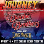 LIVE: JOURNEY & THE DOOBIE BROTHERS wsg Dave Mason – August 4, 2016 (Clarkston, MI)