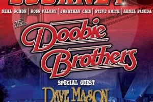 LIVE: JOURNEY & THE DOOBIE BROTHERS wsg Dave Mason – August 4, 2016 (Clarkston, MI)