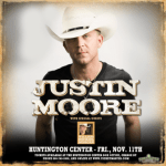LIVE: JUSTIN MOORE wsg William Michael Morgan – November 11, 2016 (Toledo, OH)