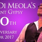 LIVE: AL DI MEOLA – Elegant Gypsy 40th Anniversary Tour – February 21, 2017 (Royal Oak, MI)