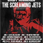 BABY ANIMALS AND SCREAMING JETS JOIN FORCES TO TOUR FOR THE FIRST TIME IN 25 YEARS!