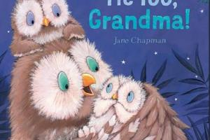 BOOK REVIEW: Me Too, Grandma! by Jane Chapman