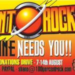 100% ROCK MAGAZINE – Annual Donations Drive