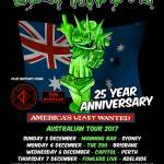 UGLY KID JOE returning to tour Australia again, playing America's Least Wanted