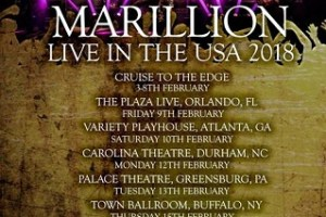 MARILLION RETURN LIVE IN THE USA