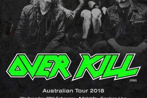 OVERKILL Announce 2018 Australian Tour