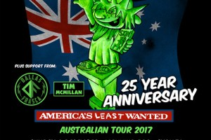 LIVE: Ugly Kid Joe with Dallas Frasca, Tim Mcmillan – Perth, 6 Dec 2017