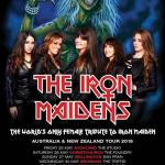 LIVE: THE IRON MAIDENS – Perth, 3 June, 2018