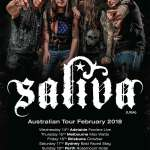 LIVE: Saliva – Perth, 18 Feb 2018