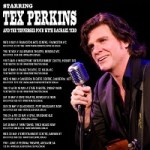TEX PERKINS REPRISES HIS ROLE AS THE MAN IN BLACK IN 2018 FOR AN AUSTRALIAN TOUR WITH THE TENNESSEE FOUR & RACHEL TIDD