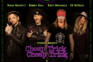 """POISON, CHEAP TRICK AND POP EVIL JOIN FORCES FOR """"POISON…NOTHIN' BUT A GOOD TIME 2018"""" U.S. SUMMER TOUR"""