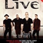 LIVE: LIVE & THE TEA PARTY, Perth – 6 Mar, 2018