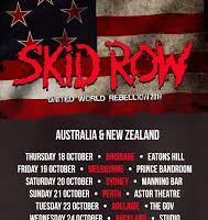 SKID ROW Announce Australian and NZ Tour