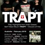 TRAPT Announce 2019 Australian Tour