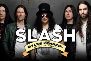 Slash Ft Myles Kennedy & The Conspirators Touring Australia & New Zealand 2019!