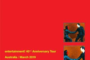 GANG OF FOUR to play Entertainment! in full on March 2019 Australian and NZ Tour