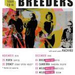 LIVE THE BREEDERS, Perth – 28 Nov, 2018
