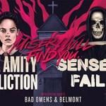 LIVE: THE AMITY AFFLICTION + SENSES FAIL – January 15, 2019