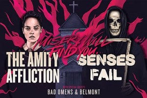 LIVE: THE AMITY AFFLICTION + SENSES FAIL – January 15, 2019
