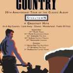 BIG COUNTRY Announce 2019 Australian and NZ Tour