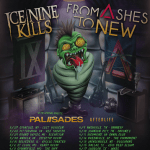 LIVE: ICE NINE KILLS / FROM ASHES TO NEW – April 10, 2019