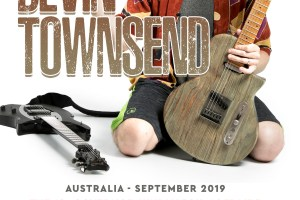 Devin Townsend Announces An Evening With Australian Acoustic Solo Tour