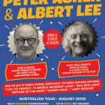 The legendary Peter Asher & Albert Lee to tour Australia